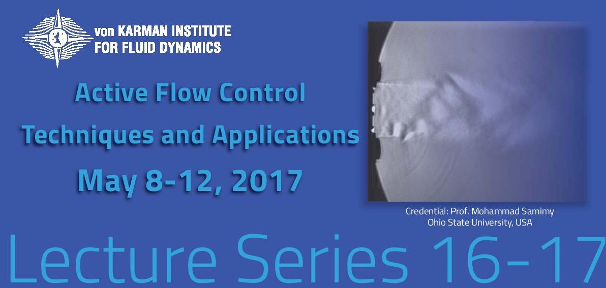 Active flow control: techniques and applications -  hardcover - VKI LS 2017-04