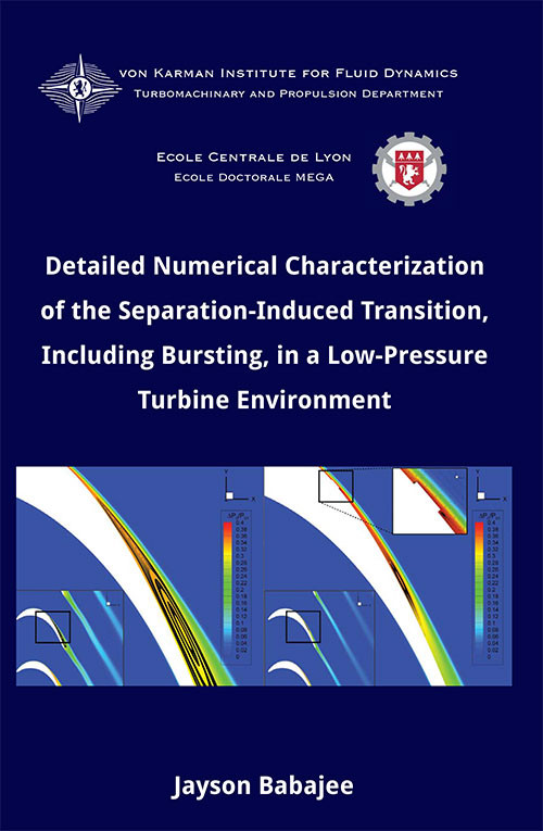 Detailed Numerical Characterization of the Separation-Induced Transition, Including Bursting, in a Low-Pressure Turbine Environment