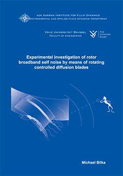 Experimental investigation of rotor broadband self noise by mean