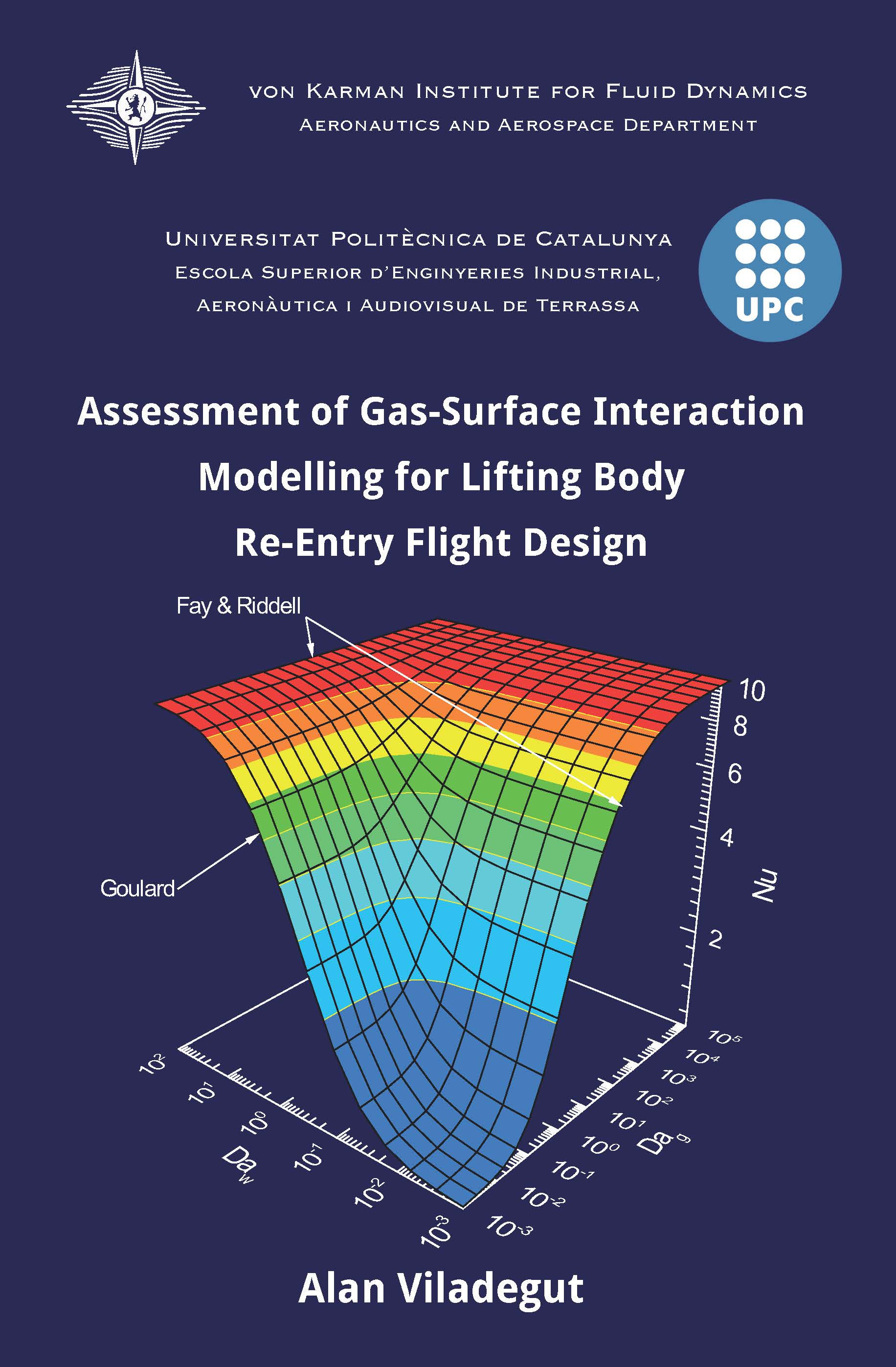 Assessment of gas-surface interaction modelling for lifting body re-entry flight design  - Alan Viladegut - Ph.D. Thesis - Free download