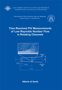 Time resolved PIV measurements of low Reynolds number flow in ro