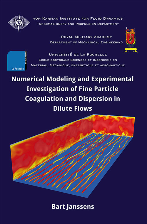 Numerical modeling and experimental investigation of fine particle coagulation and dispersion in dilute flows