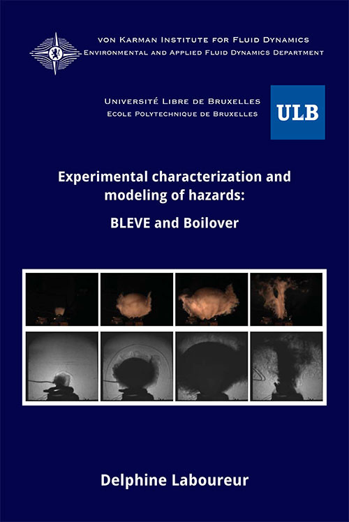 Experimental characterization and modeling of hazards: BLEVE and Boilover