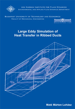 Large Eddy Simulation of  heat transfer in ribbed  ducts