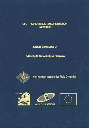 34th CFD - higer order discretization methods (EUA4X) - VKI LS 2006-01
