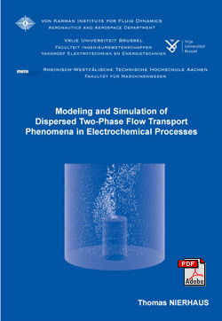 Modeling and simulation of dipsersed two-phase flow transport ph