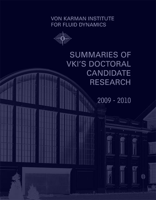 Review of the VKI doctoral Research 2009-2010
