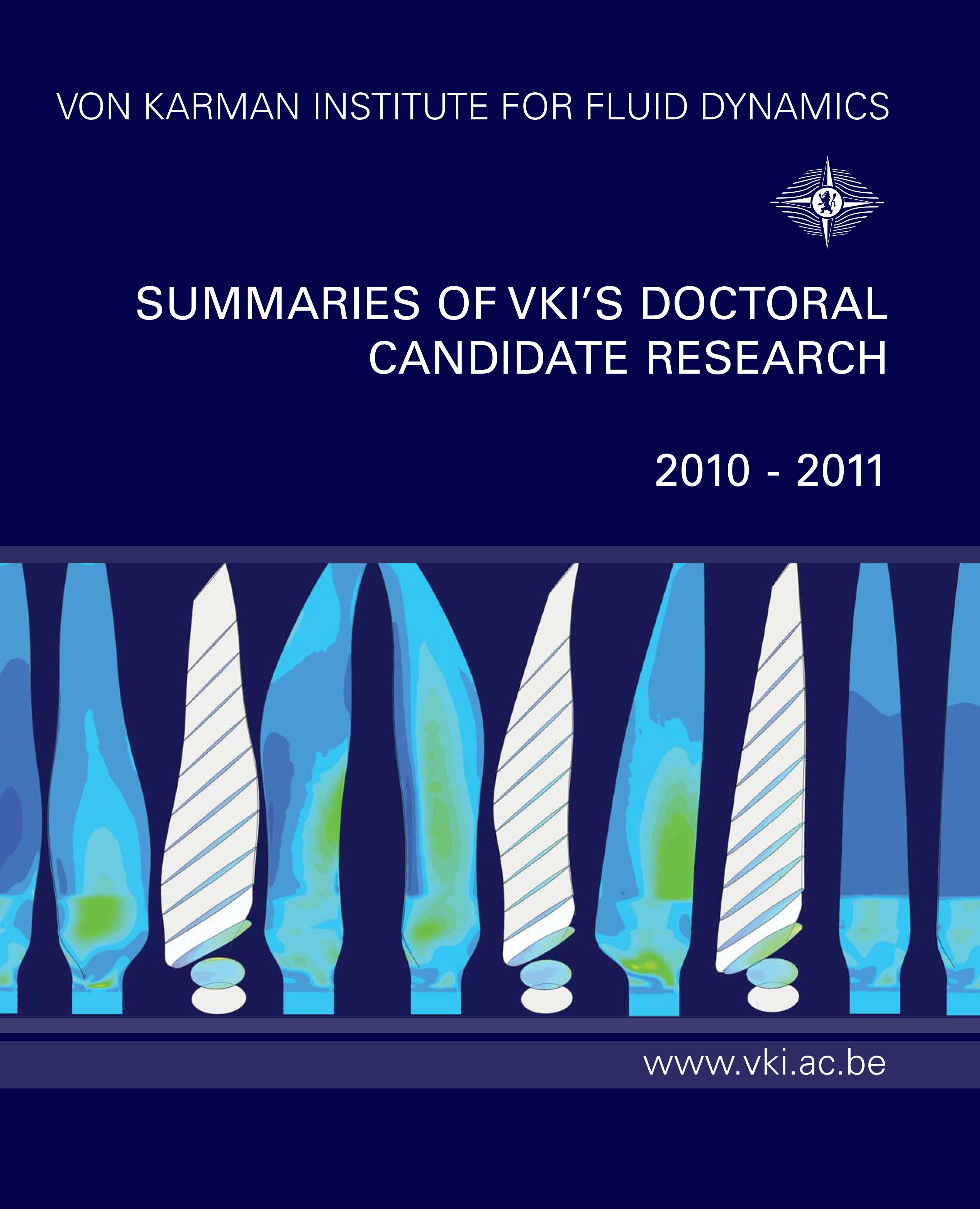 Review of the VKI doctoral Research 2010-2011