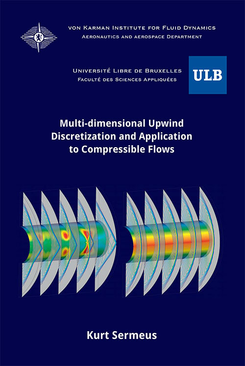 Multi-dimensional upwind discretization and application to compressible flow