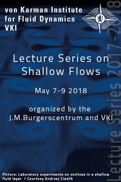Shallow Flows -  hardcover - VKI LS 2018-02