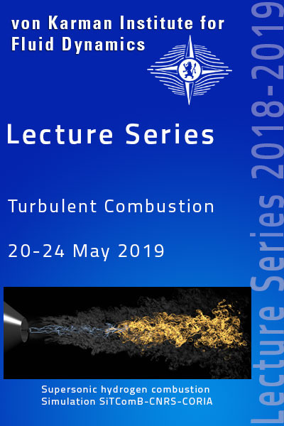 Turbulent Combustion -  hardcover - VKI LS 2019-04