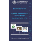 Pyrolysis Phenomena in Porous Media -  hardcover - VKI LS 2019-01